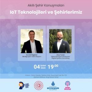 IoT Teknolojileri ve Şehirlerimiz @ Zemin İstanbul