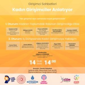 Girişimci Sohbetleri:Kadın Girişimciler Anlatıyor @ Zemin İstanbul