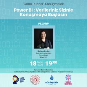 Code Runner #4: Power BI : Verileriniz Sizinle Konuşmaya Başlasın @ Zemin İstanbul