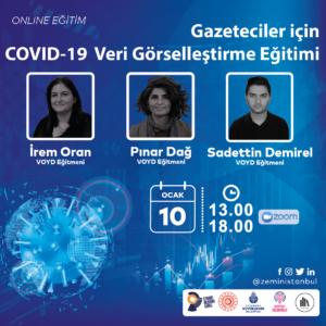 Gazeteciler için COVID-19 Veri Görselleştirme Eğitimi