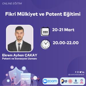 Zemin Eğitim | Fikri Mülkiyet ve Patent Eğitimi