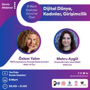 Zemin Webinar | Dijital Dünya, Kadınlar, Girişimcilik
